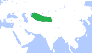 Kara-Khanid Khanate - Kara Khanid Khanate, c. 1000.