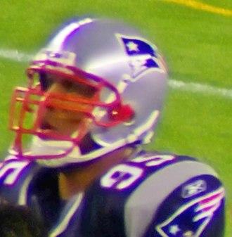 Kareem Brown - Brown during a New England Patriots preseason game in 2007.