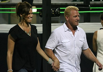 Jeff Jarrett Right And Karen In 2015