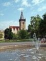 Karlsplatz (Karlovo náměstí) mit Neustädter Rathaus, Praha, Prague, Prag - panoramio.jpg