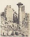 Karnak (Thèbes), Cour du Palais - Vue Prise de Point I MET DP71356.jpg