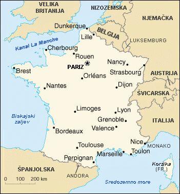 Karta Francuske