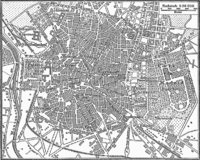 An 1888 German map of Madrid