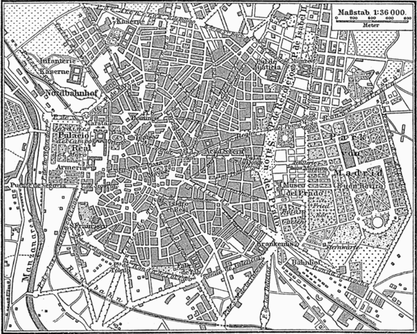 Evolucin histrica del plano de Madrid  Wikiwand