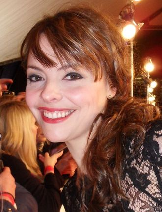 Tracy Barlow - Kate Ford admitted that she was nervous about her return to the serial.