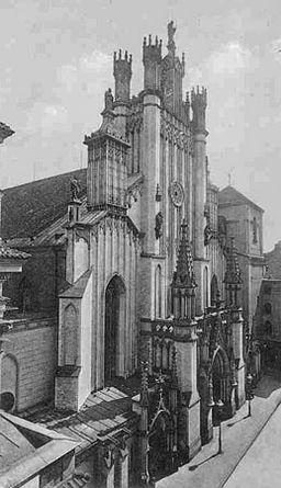 Katedralen omkring 1900