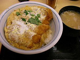 Katsudon and miso soup by jetalone.jpg
