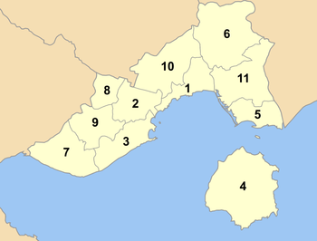 Kavala municipalities numbered.png