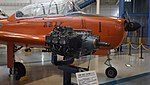 Kawasaki KAE-240 reciprocating engine right front view at Kakamigahara Aerospace Science Museum November 2, 2014.jpg