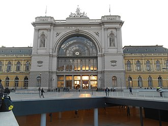 Budapest Keleti railway station - Since it faces due east, at the Vernal Equinox, the sun rises and lights the train shed