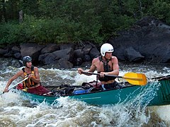 One example for Feature : Whitewater sports