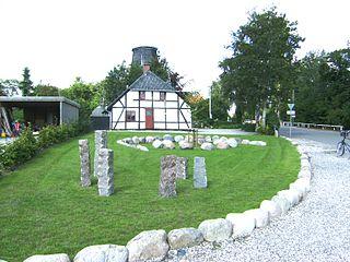 Kettinge Town in Zealand, Denmark