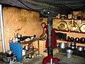 Key monastery kitchen, Spiti, India. 2004.jpg