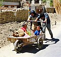 Kids in cart. Leh, Ladakh.jpg