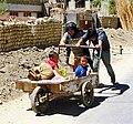 Kids in cart. Leh, Ladakh.jpg
