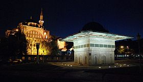 Kılıç Ali Paşa mosque and Tophane fountain