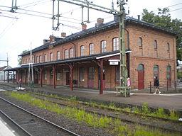 Stationshuset i Kile 2013.