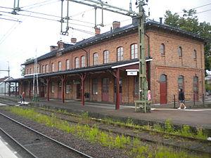Kil, Värmland - Kil Train Station
