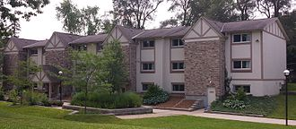 King's University College (University of Western Ontario) - Townhouse style student residence