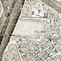 Kiow map by Melenskyi (General plan) 1803 (detail, Nanny-goat bog).png