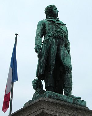 Jean-Baptiste Kléber - Statue of Kléber on the Place Kléber at Strasbourg