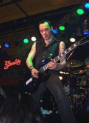 KMFDM guitarist Jules Hodgson