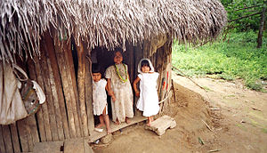 Indigenous peoples in Colombia - Kogi children