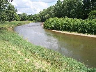 Mount Vernon, Ohio - The Kokosing River in Mount Vernon in 2006.