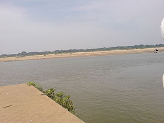 Kollidam River river in India