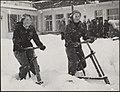 Koninklijk huis, prinsessen, wintersport, sneeuw, Beatrix, prinses, Irene, prins, Bestanddeelnr 019-0669.jpg