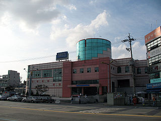 Jemulpo station train station in South Korea