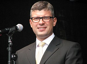 Minister of Public Administration (Estonia) - Image: Korb, Mihhail.IMG 2249