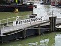 Kraneschipbrug - Stadsdriehoek - Rotterdam - Bridge name plate.jpg