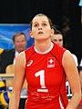 Kristel Marbach - FIVB World Championship European Qualification Women Łódź January 2014.jpg