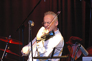 Krzesimir Dębski - Composer and violin player Krzesimir Debski in concert.