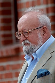 Krzysztof Penderecki Polish composer and conductor