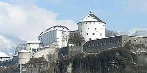 Battle of Wörgl - Kufstein fortress held out for a month.