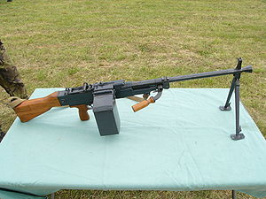 Machine gun - Czechoslovak 7.62 mm Universal Machine gun Model 1959.