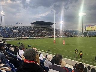 Kumagaya Rugby Ground Sports stadium in Saitama Prefecture, Japan