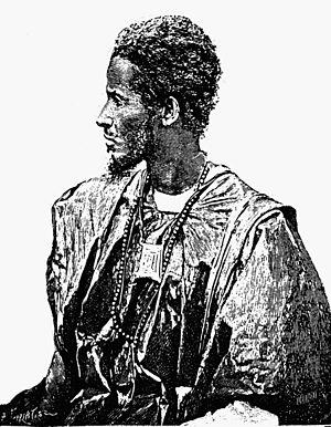 Ahmad al-Bakkai al-Kunti - Moorish marabut of the Kunta tribe, Timbuktu region, late 19th century