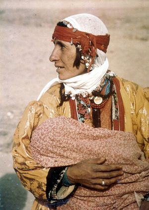 Kurds in Turkey - Kurdish mother and child, Van, Turkey. 1973
