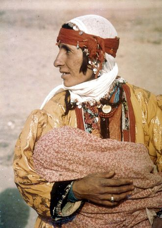 Minorities in Turkey - Kurdish mother and child, Van, Turkey. 1973