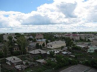 Kuybyshev, Novosibirsk Oblast - View of Kuybyshev