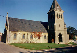 The church of Frières-Faillouël