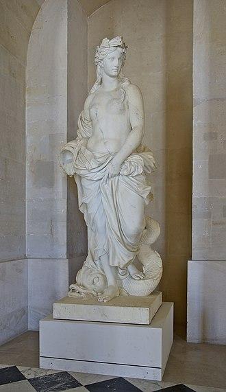 Pierre Le Gros the Elder - Image: L'Eau, Pierre Ier Legros Versailles MR 2016