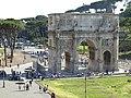 L'arco di Costantino con....... bancarella^ - panoramio.jpg