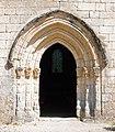 L'entrée d'église Saint-Cybard, Cercles.jpg