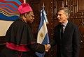 Léon Kalenga Badikebele and Mauricio Macri 01.jpg