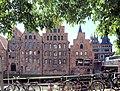 Lübeck, die Salzspeichergruppe.JPG