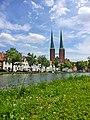Lübeck Obertrave Dom.jpg
